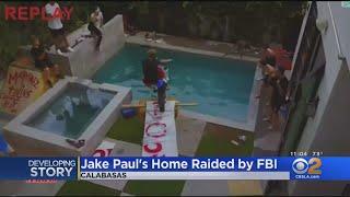 FBI Raids Calabasas Home Of YouTube Star Jake Paul