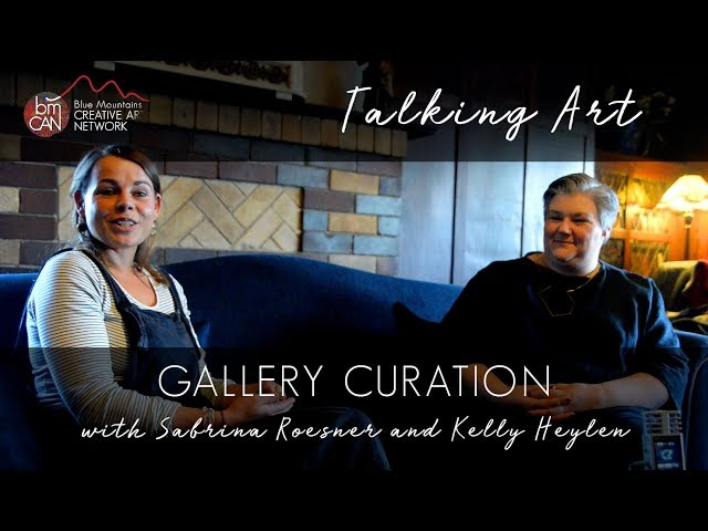 Talking Art Podcast Number 1 Gallery Curation