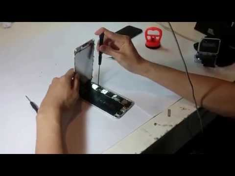 iPhone 6 ganti battery // dismantle disassembly iPhone 6 spareparts