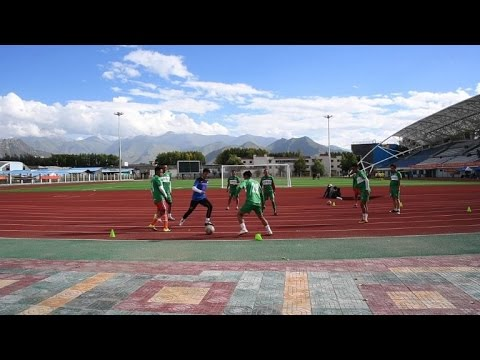 Tibet's first football club aims at unity