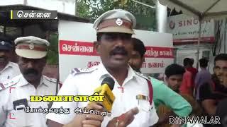Best awareness speech by Traffic police.
