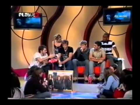 Blue - Interview (Italy, 22.01.2004) Part1