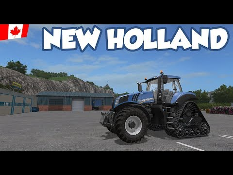 New Holland T8 - Ep. 45 - Sandy Bay - FS17