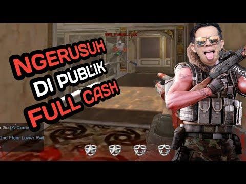 NGERUSUHIN BOCIL - BOCIL PUBLIK PAKE FULLCASH - POINT BLANK GARENA INDONESIA