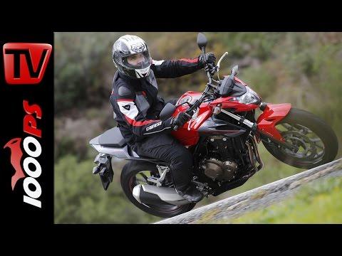 Honda CB500F Test 2016   A2 - 48PS Einsteiger Nakedbike