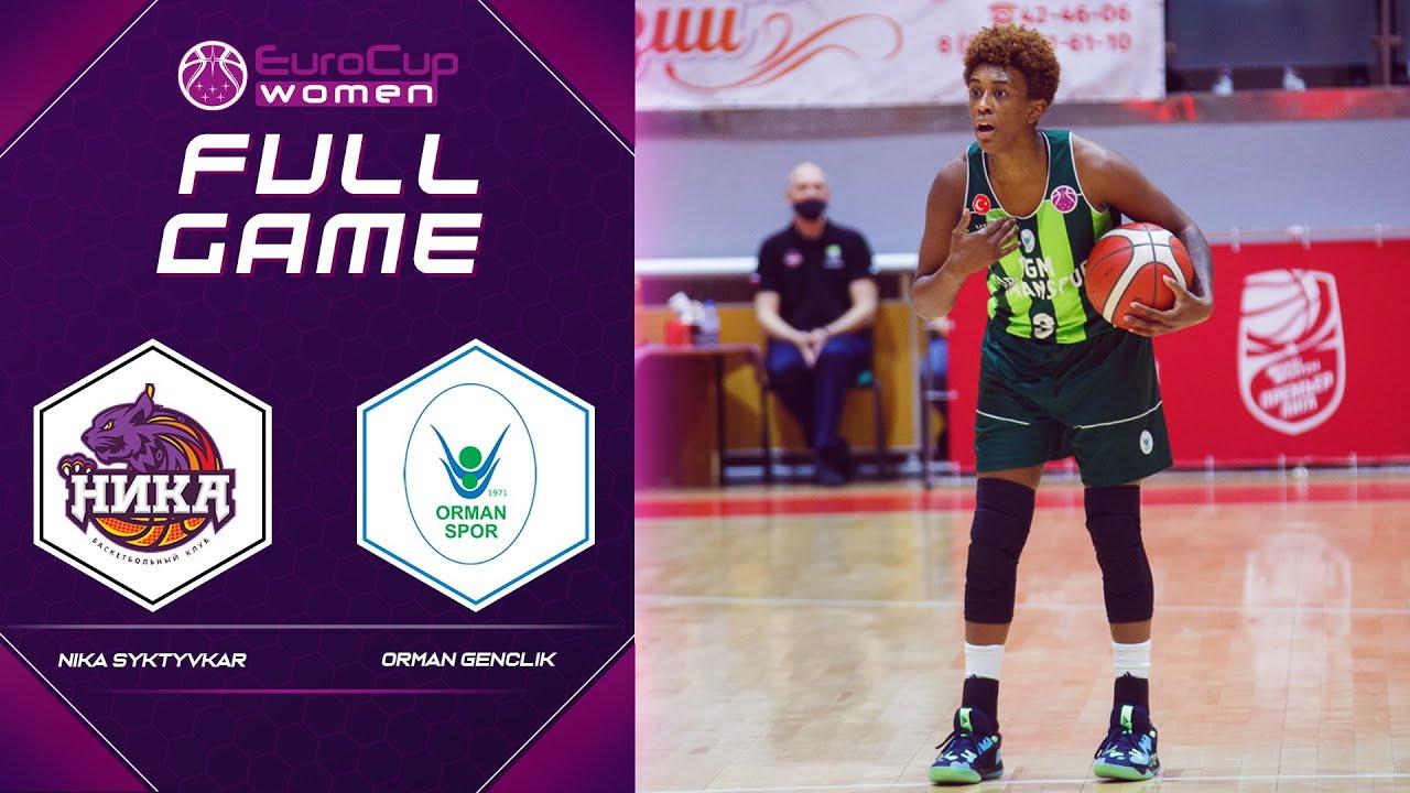 Nika Syktyvkar v Orman Genclik   Full Game - EuroCup Women 2021-22