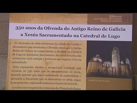 350 anos da Ofrenda do Antigo Reino de Galicia