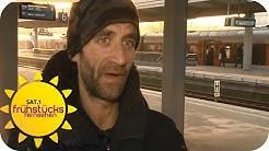 Bettlerei in Regionalzügen | SAT.1 Frühstücksfernsehen