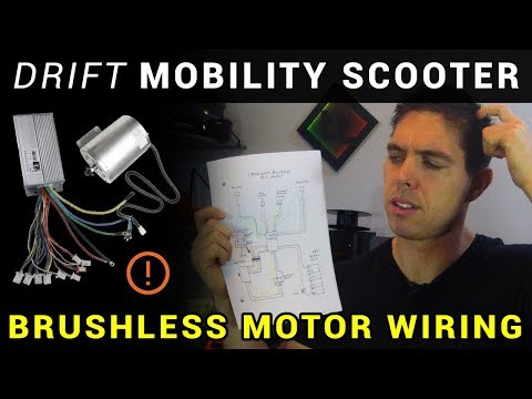 How to: ESC / brushless motor wiring - Drift Mobility Scooter + Drift Trike - Part 2
