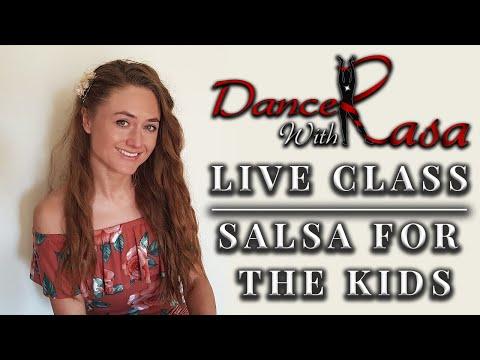 Dance With Rasa - KIDS PART 5! LIVE Children's Salsa Class