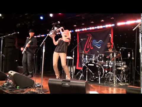 Mindi Abair live at The Smooth Jazz Cruise 2014 - (Stones)