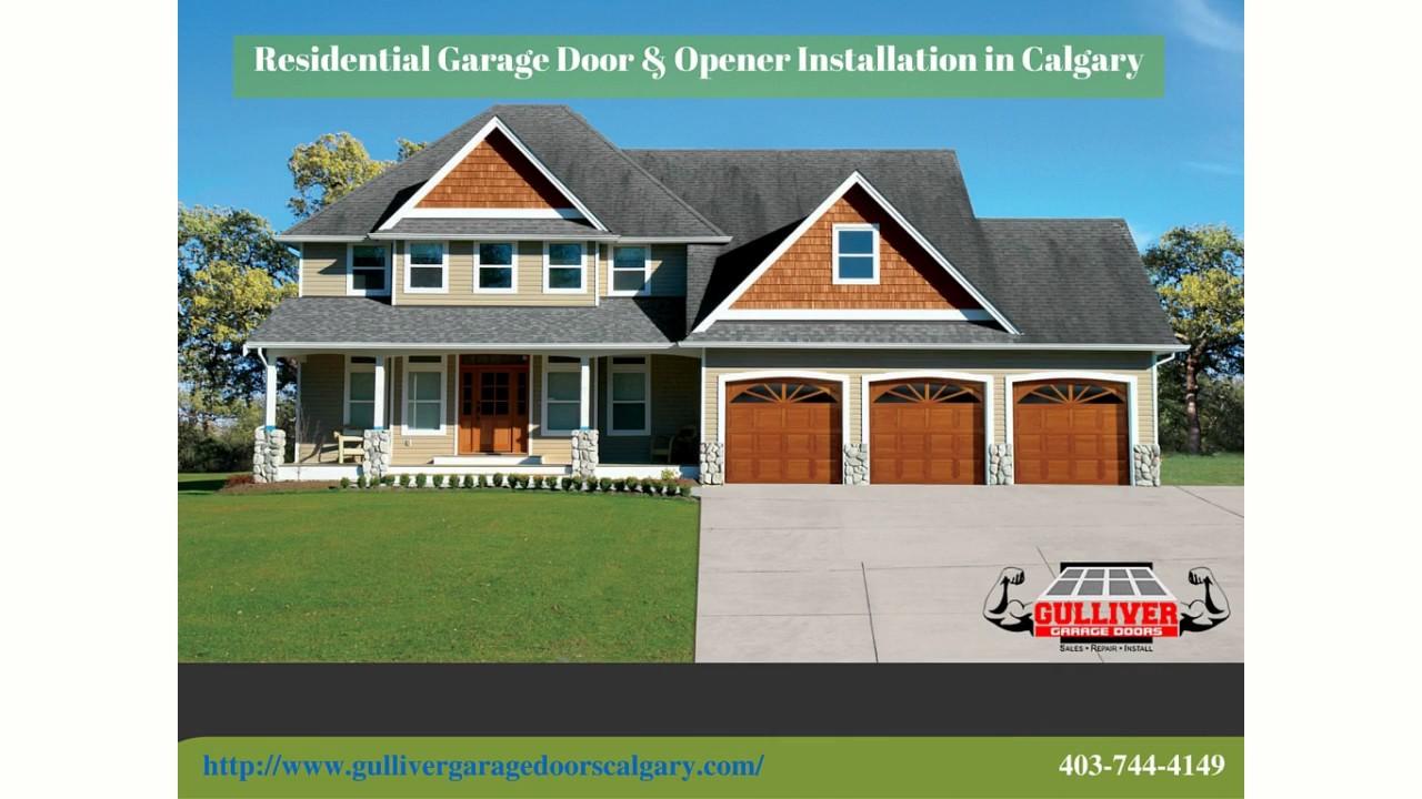 S Garage Door Repair Calgary  Sales U0026 Installation  Service