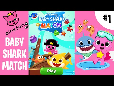 BABY SHARK MATCH [PINKFONG GAMES] #babysharkchallenge Versions Sing Dance Testing Remix Song 1