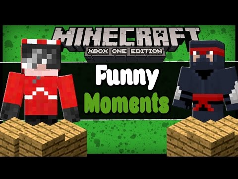 Minecraft: DAY 3 - Mining Team, Moving Houses, Block Tower, C3PO and R2D2 Questions (Comedy Gaming)