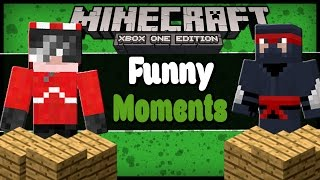minecraft funny moments day 3 mining team moving houses block tower c3po and r2d2 questions