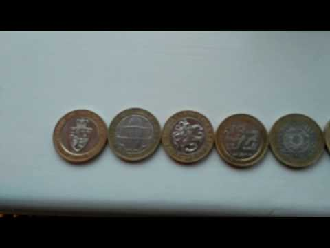 Every British  £2 Coin Ever Made