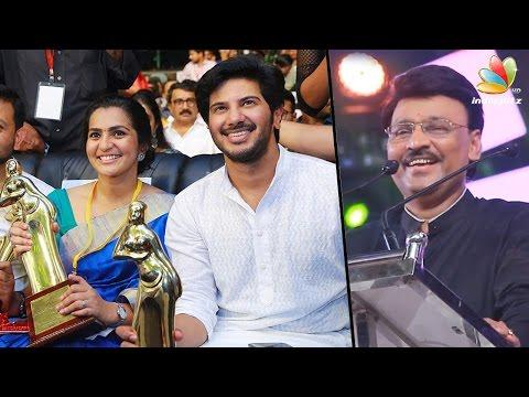 Malayalam Cinema gave me the identity says Poornima bhagyaraj   Kerala Awards   Dulquer, Parvathy