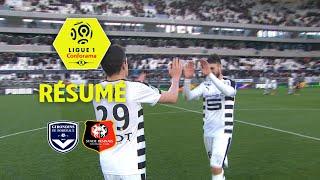Girondins de Bordeaux - Stade Rennais FC ( 0-2 ) - Résumé - (GdB - SRFC) / 2017-18