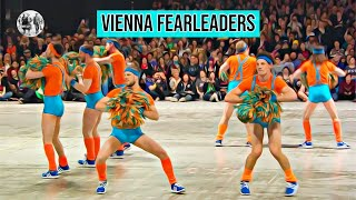 The Vienna Fearleaders - all male cheerleading squad