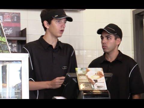 Fake McDonalds Employee Prank! (BEHIND THE COUNTER)