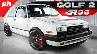 GOLF 2 JAČI OD NOVOG GOLFA R?! Golf 2 R36 /// 3.6L, 340hp