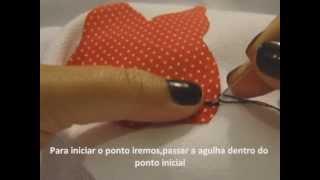Como fazer ponto caseado a mão,rápido e fácil