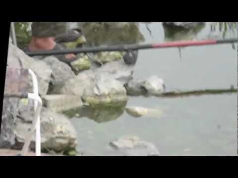 Рыбалка   Верхняя Салда ,  оз  Карасье  Июль 2012г