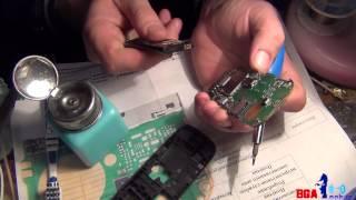видео Nokia x2-02 белый дисплей  Ремонт оказался до банального простым