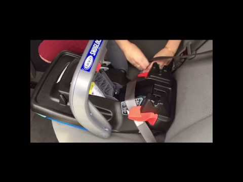2017 how to install graco snugride snuglock 35 dlx infant car seat youtube. Black Bedroom Furniture Sets. Home Design Ideas
