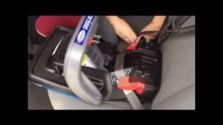 SincerelyJean.com 2017 How to INSTALL Graco® SnugRide® SnugLock™ 35 DLX Infant Car Seat