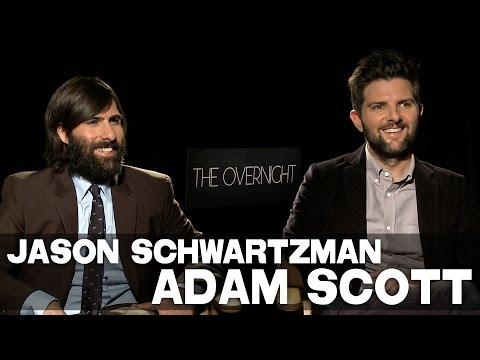 Jason Schwartzman & Adam Scott talk THE OVERNIGHT