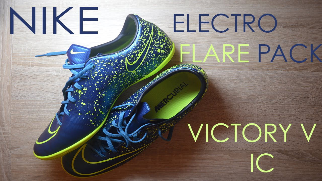 7262e3a9b57 ... best price buy 20951 52554 nike mercurial victory ic electro flare pack  u2022 unboxing on e9f2d