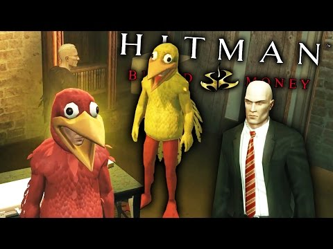 CULT OF THE CHICKEN-MAN   Hitman: Blood Money - Funny Moments (Gameplay Montage)  