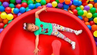 Indoor Playground for kids fun Play time and Hide and Seek !
