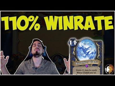 Hearthstone: 110% Winrate Big Shaman - Ladder Destruction (Part 2)