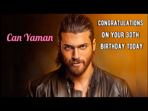 Can Yaman Tribute For His 30th Birthday..A Turkish Actor & Model Born 08.11.89..💕 (Watch In 720p)