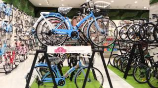 Japanese bicycle Shop in Aeon Plaza Shah Alam