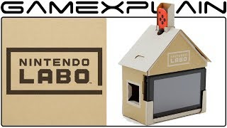 First Look at Nintendo Labo for the Nintendo Switch - Reveal Trailer