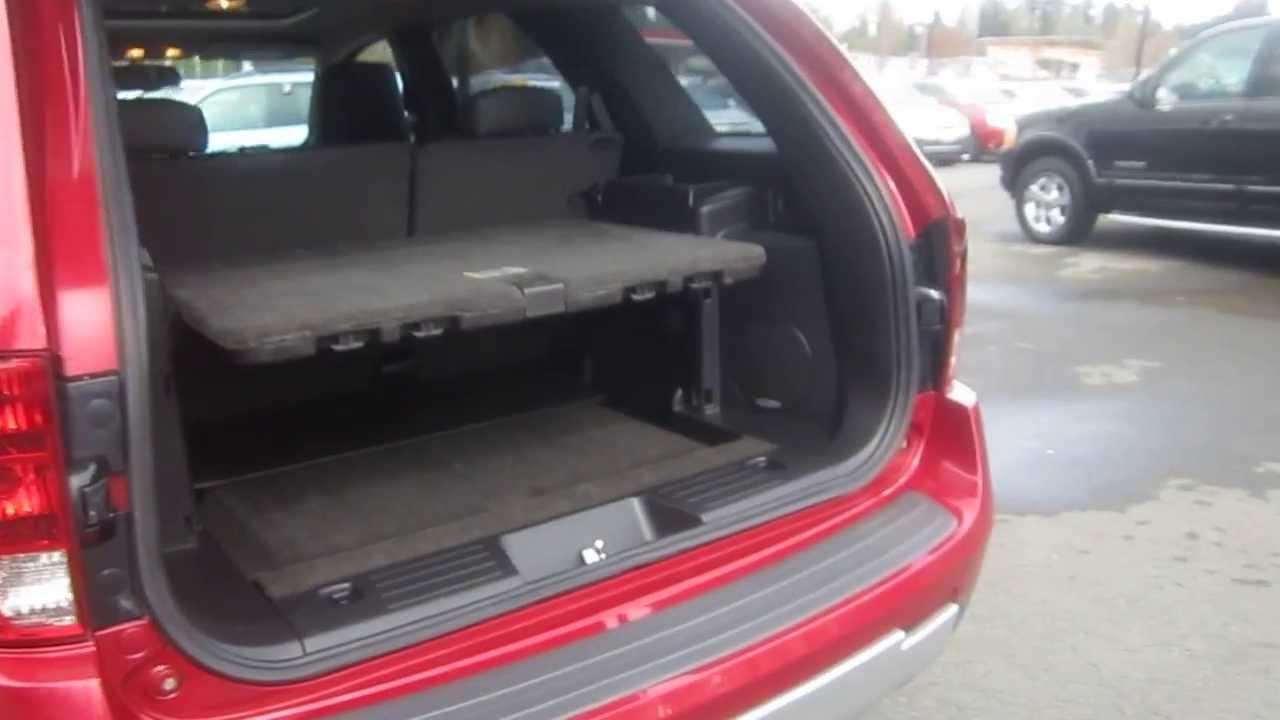 2006 Pontiac Torrent Fever Red Stock K1400371 Interior Rear