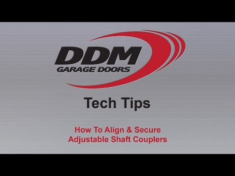 DDM Tech Tips: How To Align & Secure Adjustable Shaft Couplers