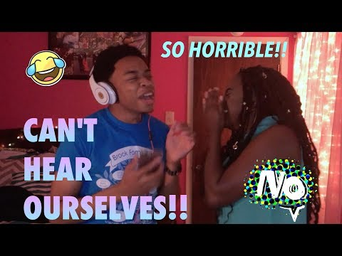 HILARIOUS!!!!! Singing while wearing NOISE CANCELLING headphones CHALLENGE!!!! (MUST WATCH)