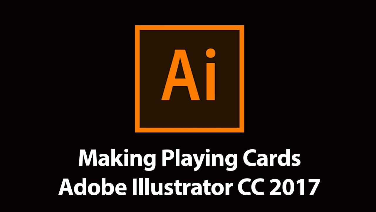 How to Make Playing Cards Adobe Illustrator CC 22 With Regard To Playing Card Template Illustrator