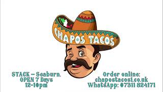 Chapo's Tacos Local TV Commercial #SupportLocal