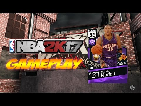 NBA 2K17 AMETHYST SHAWN MARION GAMEPLAY (MYTEAM)