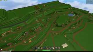 Roblox Place Review: Hobiton, The Home of Hobbits. Commentary HD - Cool Place!