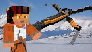 """Star Wars The Force Awakens """"Poe`s X-Wing"""" in Minecraft"""