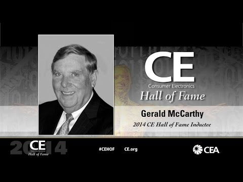 2014 Hall of Fame Gerald McCarthy