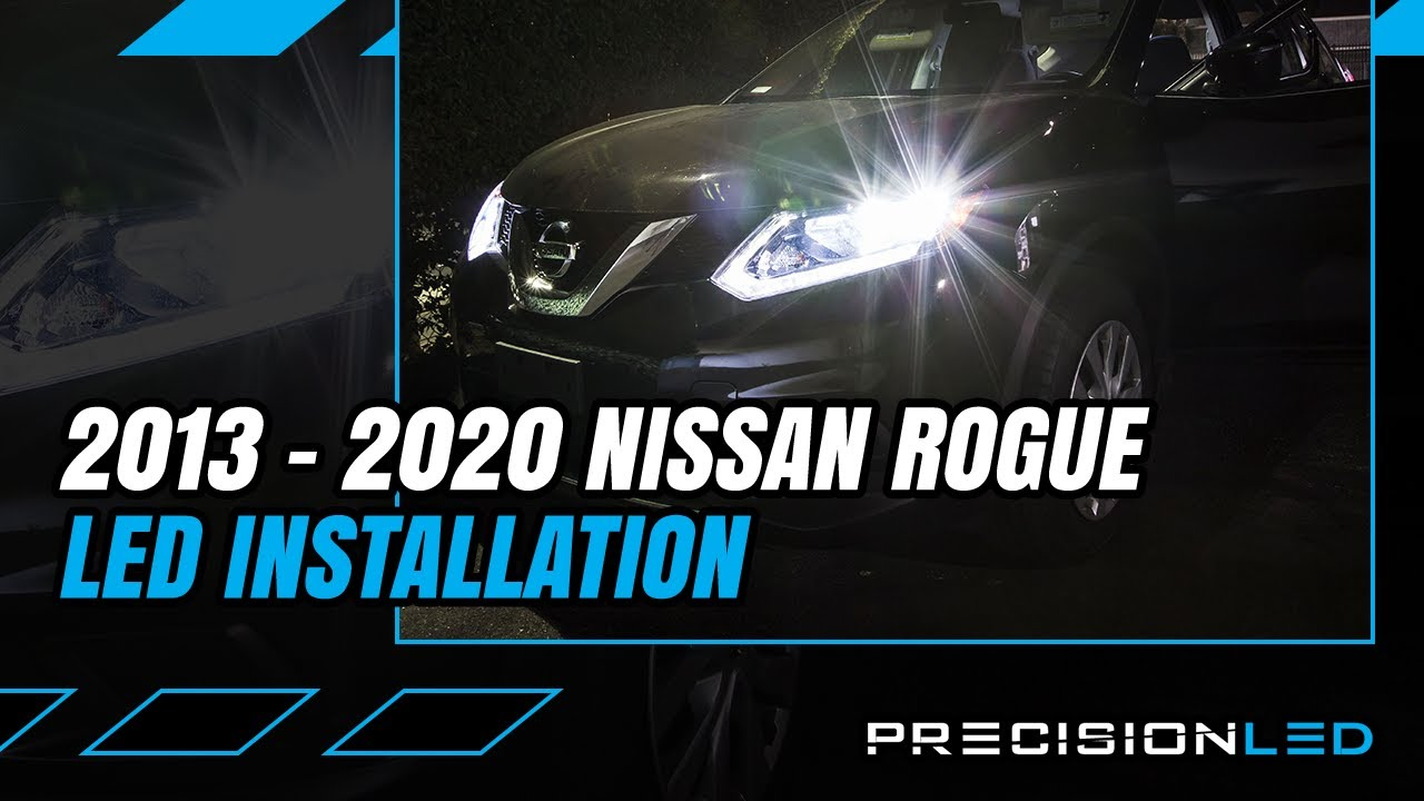 Nissan Rogue Led Headlights How To Install 2nd Gen 2013 Youtube