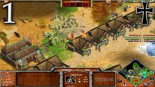 Age of Mythology: The Titans - 1ª Partida Multijugador - Rami y Fede