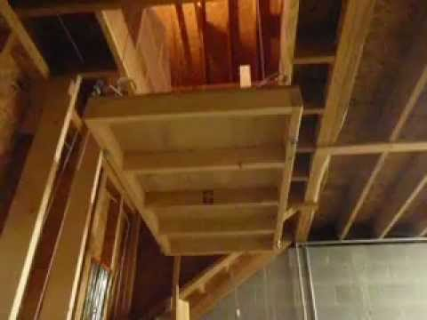 Garage Hoist Lift - YouTube